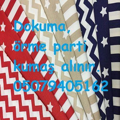 Parti kumaş alanlar 05079405162