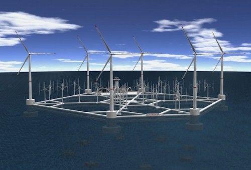 Floating Wind Farm for Malta