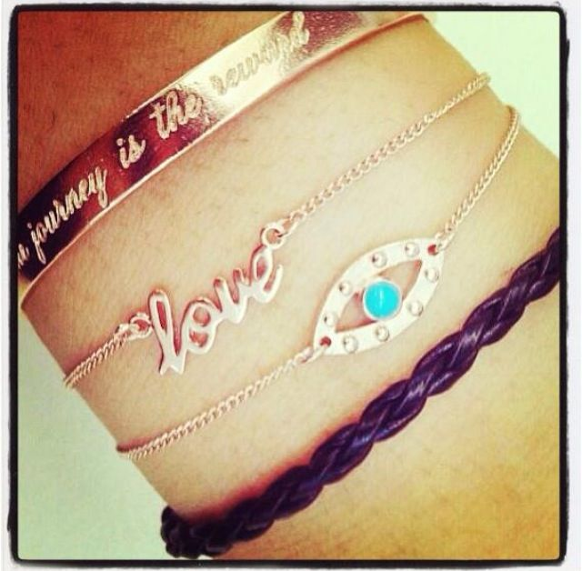 Nicole fendel bracelets