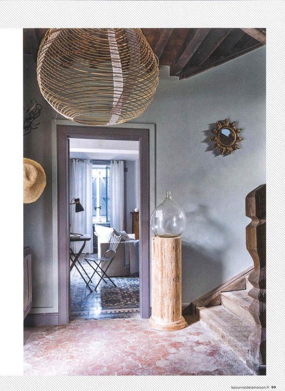 paris au mois daot feriel lampshade in the french magazine le journal de la - Inno Be Liste De Mariage