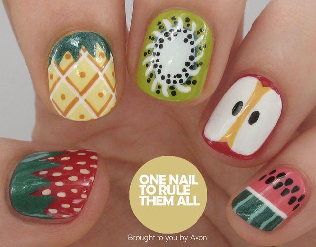 Fruit Nail Art for Avon