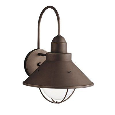Shop kichler lighting 9023 seaside outdoor sconce at lowes canada find our selection of outdoor wall lighting at the lowest price guaranteed with price