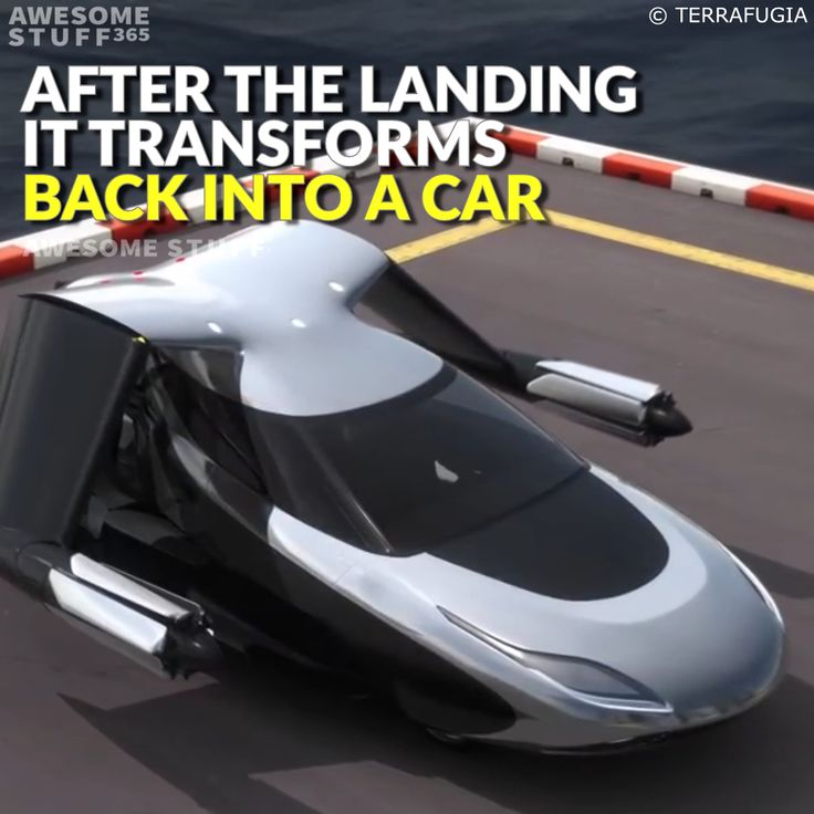 The TF-X Flying Car
