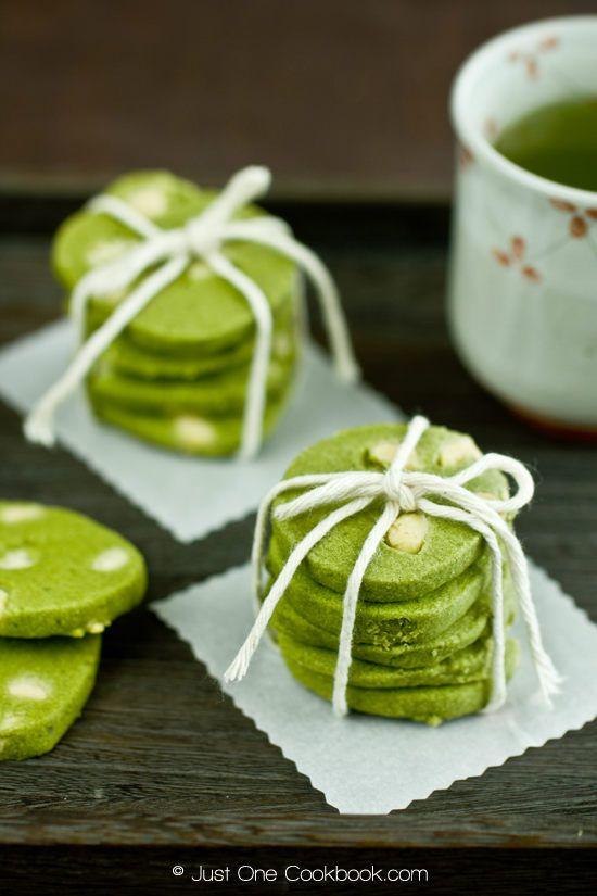 Green Tea & White Chocolate Cookies III