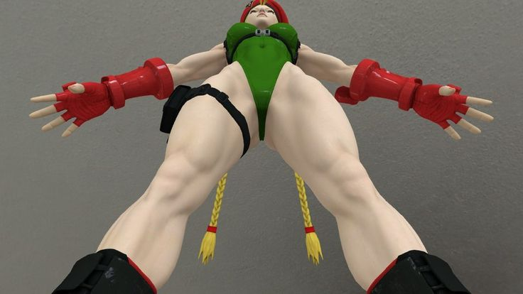3d street fighter cammy 5