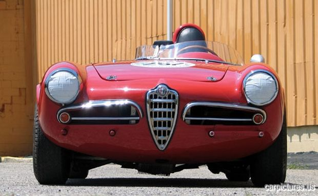 #AlfaRomeo #Spider #Veloce Monoposto Front - Car Pictures