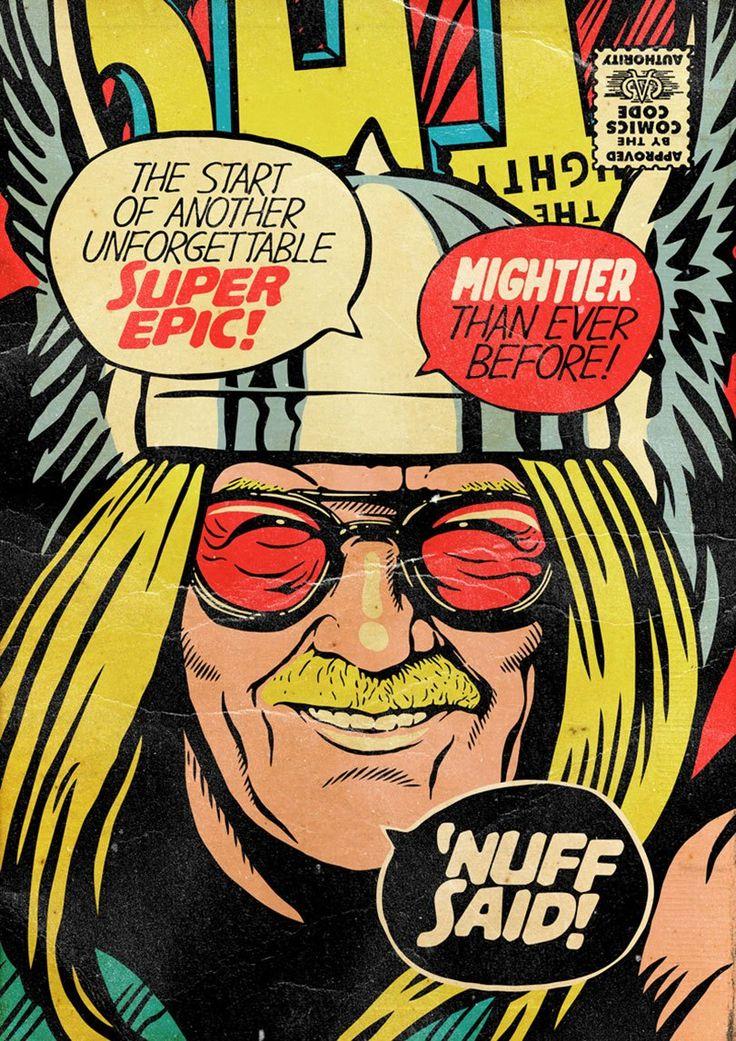 Stan Lee como super-heróis da Marvel ⋆ Geekness