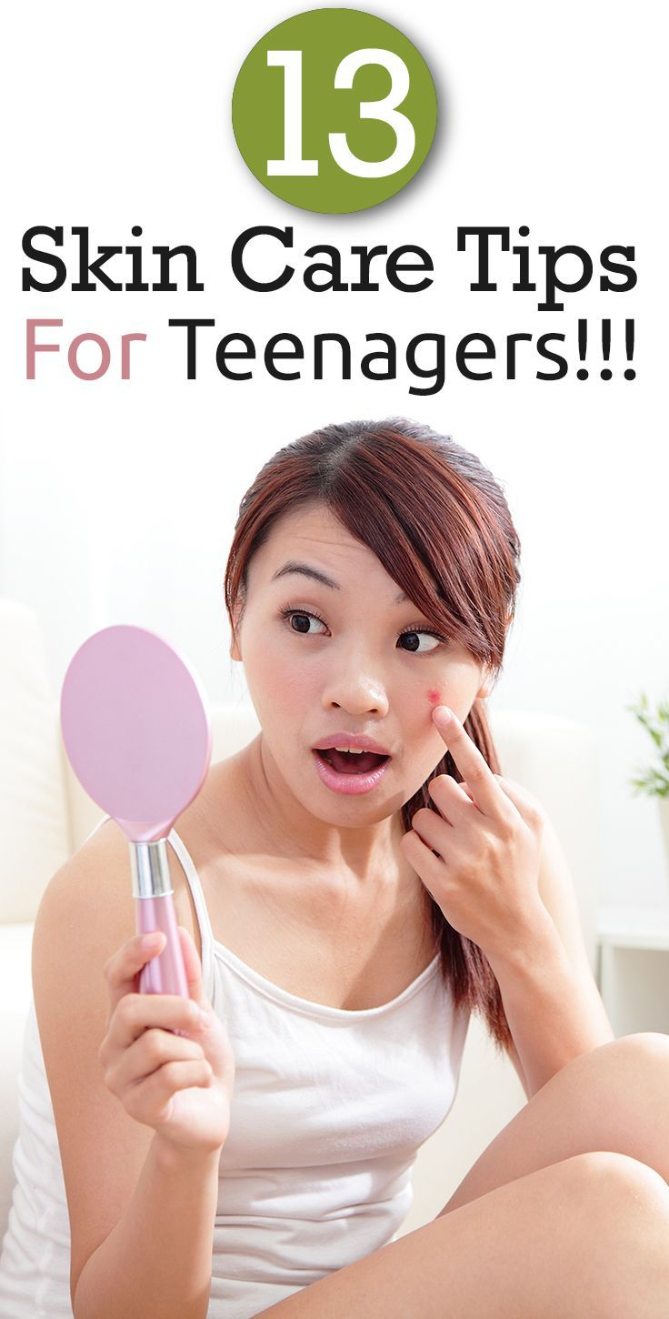 15 Essential Skin Care Tips For Teenagers | Dry Skin Care ...