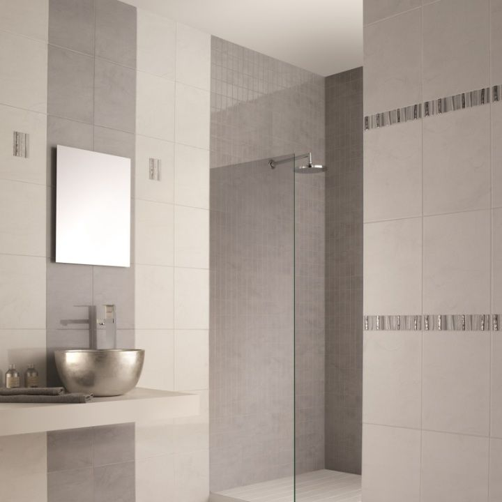 Perfect As White Bathroom Tiles Or For Stylish Kitchen Tile Designs The Attractive Teguise Range