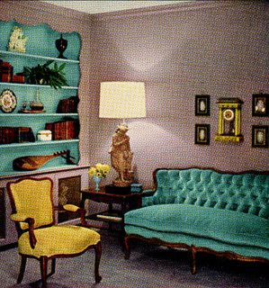 17 best images about 1950s home decor on pinterest - 1950 s living room decorating ideas ...
