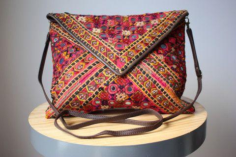 Vintage Tribal Masala Bag Lucy - Caravana
