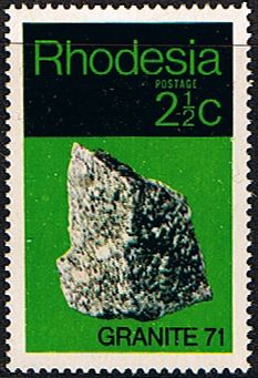Rhodesia 1971 Geological Granite 71 SG 465 Fine Mint SG 465 Scott 310 Condition Fine MNHOnly one post charge applied on multipule purchases