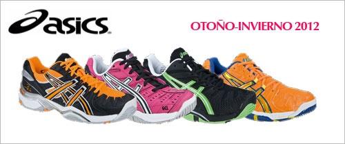 #zapatillas de #padel asics.Colección Otoño-Invierno 2012 http://www.padelenlared.com/zapatillas-de-padel/asics