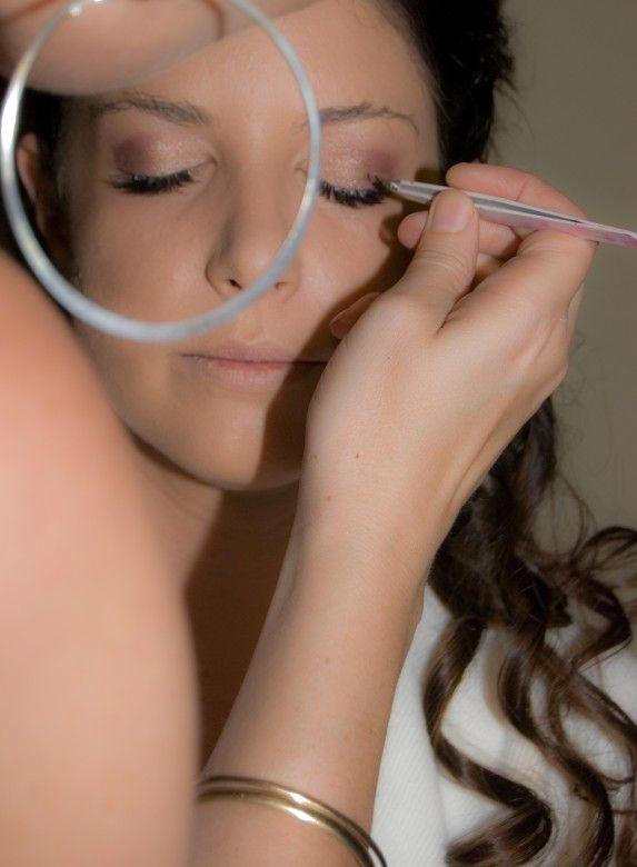 Bridal makeup by Sparkling belle