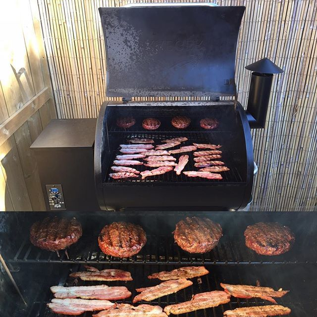 how to cook bacon on pellet smoker
