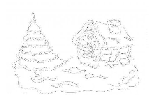 Ozdobte si okná a vytvorte vianočnú atmosféru, stačí vytlačiť a vystrihnúť
