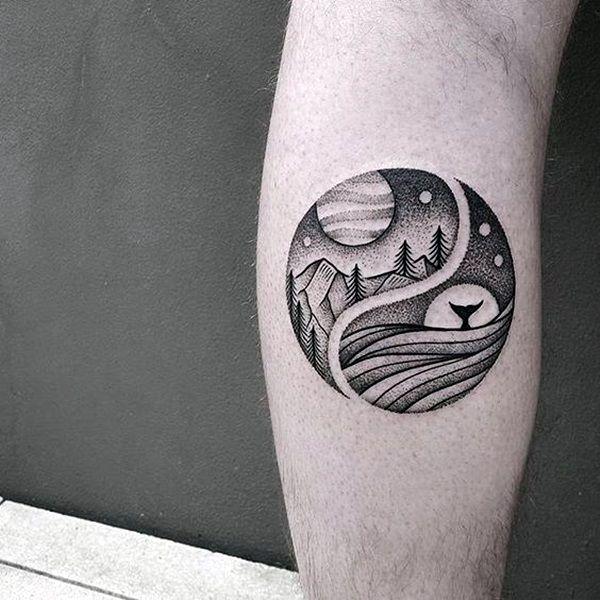 Thigh tattoo men on pinterest anchor thigh tattoo anchor tattoo - Dot Work Tattoo On Pinterest Tattoos Grey Tattoo And Mandala Tattoo