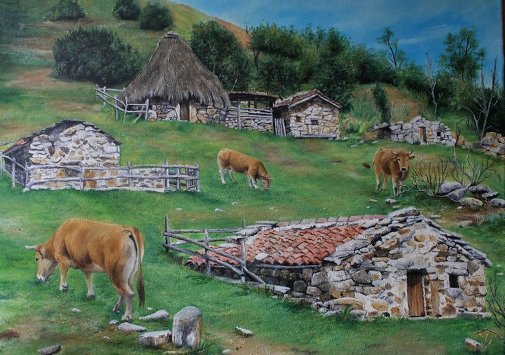 22 best images about pintora artistica on pinterest - Pintores en asturias ...
