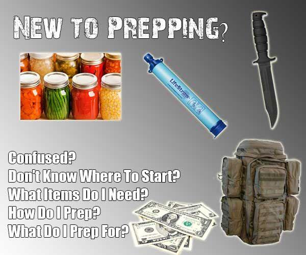 Shtf Emergency Preparedness: New To Prepping? Start Here :) - SHTF