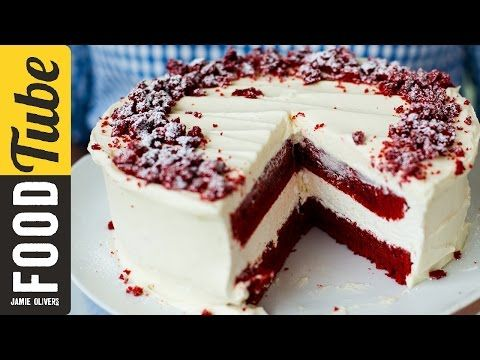 Red Velvet Cheesecake with Eric Lanlard & Donal Skehan - YouTube