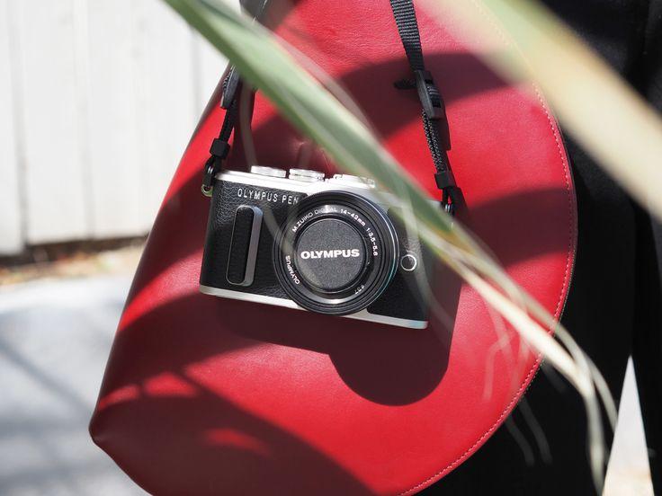 Palm Springs | Summer Mood | Mansur Gavriel Moon Clutch Bag | Olympus PEN E-PL8 Camera | #ootd | Kiki Albrecht
