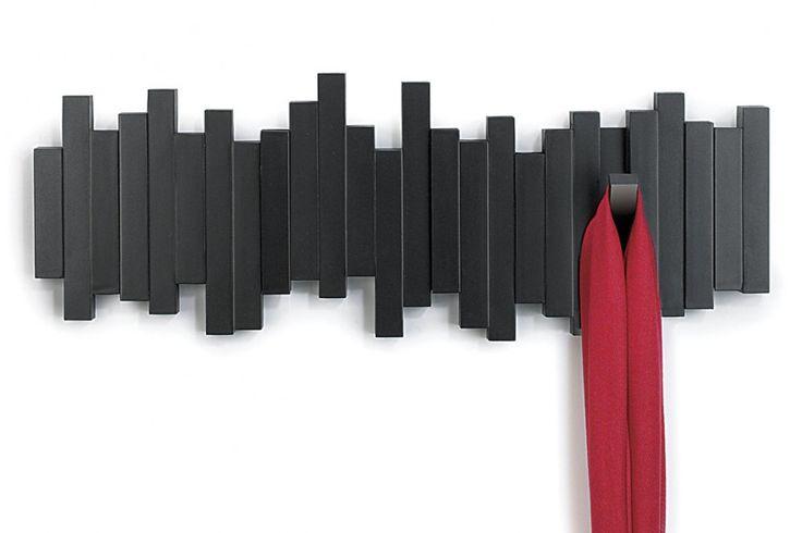 Sticks Multi Hook van Umbra Een mooi en decoratieve kapstok voor in kleine ruimtes is lastig te vinden. Maar hier is hij! #kapstok #housewarming #cadeau