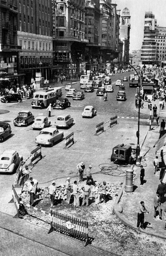 La foto de la semana: Gran Vía esquina Hortaleza, 1966