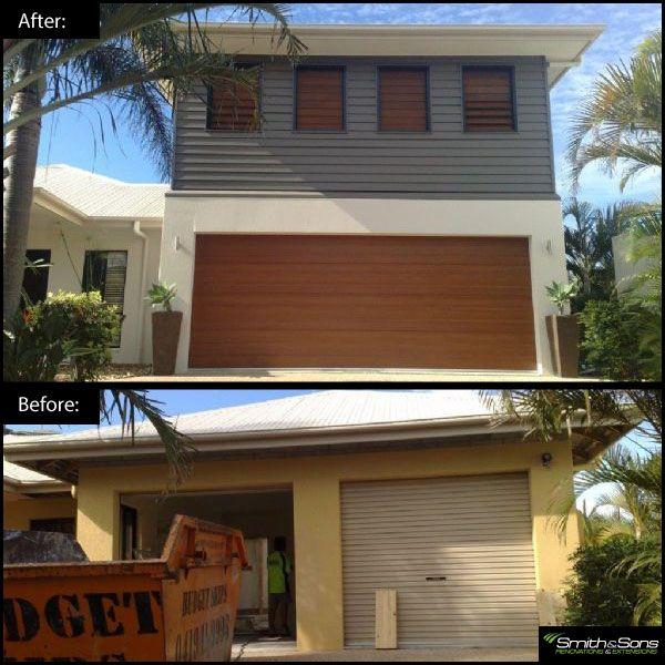 Second story addition! #renovation #inspiration #homeimprovement #smithandsonsqld