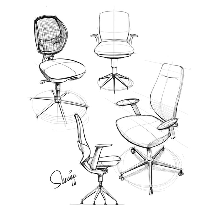 Chair Design Sketches