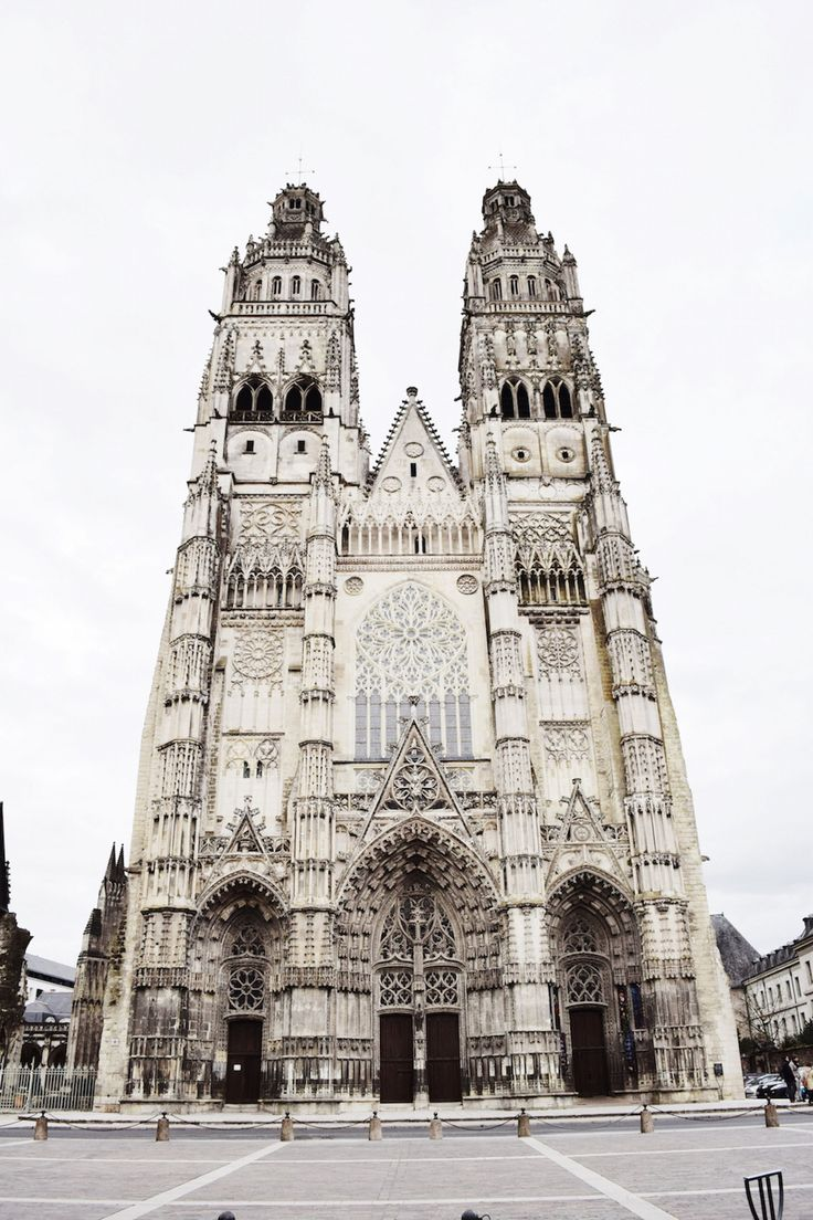 Cities you MUST visit when in France – Cathedral Saint Gatien #Tours, France | #toursfrance #visitfrance