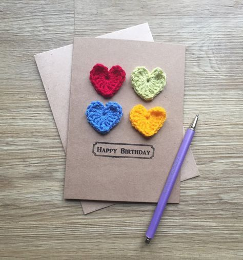 39+ ideas for crochet heart card love