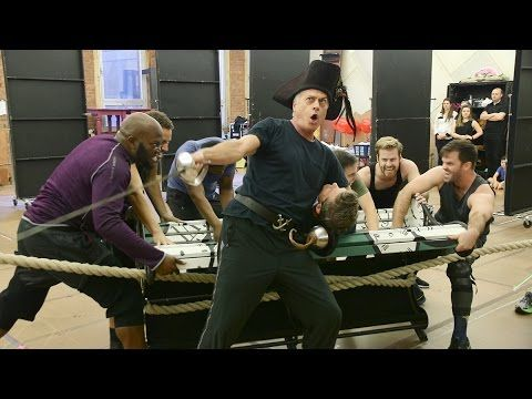 Finding Neverland's Touring Company Performs From the Magical Broadway M...