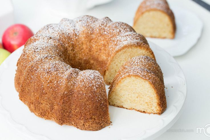 Lemon Pound Bundt Cake With Sweetend Condensed Milk