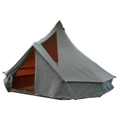 New for 2017 Stargazer 5m Bell tent - Available March 2017 Incorporated viewing panels with...