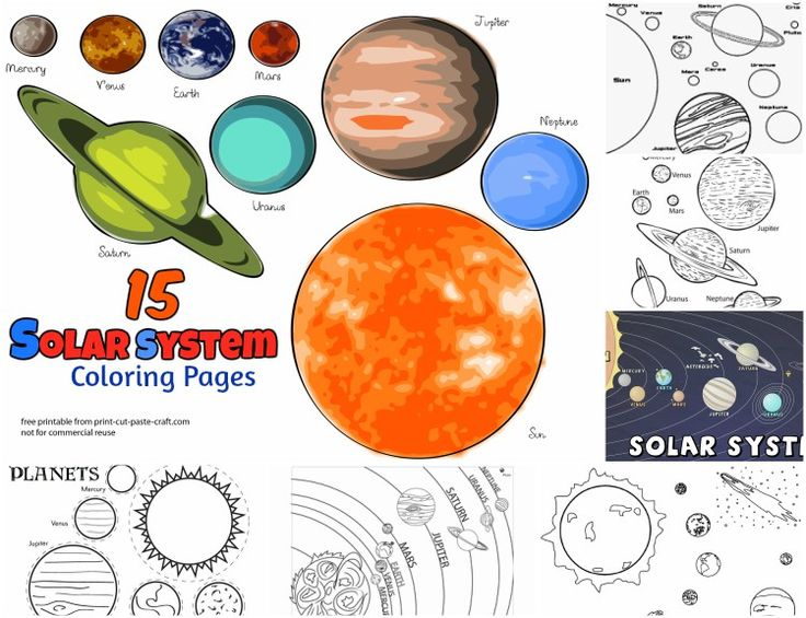 Free Printable Solar System Coloring Pages For Kids Coloring