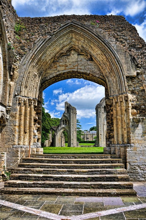 Glastonbury Abbey, England