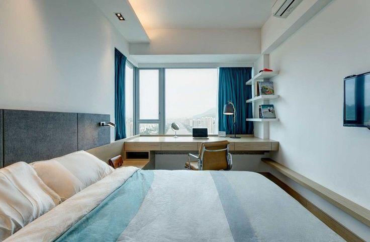 55+ фото дизайна спальни 12 метров: яркие идеи, модные тенденции http://happymodern.ru/spalnya-12-metrov-dizajn/ Объединение спальни и балкона позволит увеличить площадь комнаты