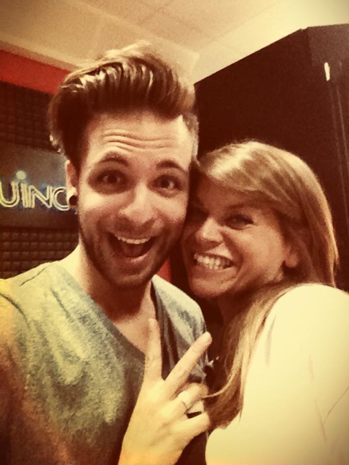 Alessandra Amoroso y Alessio Bernabei!! #iloveyou #teamo #tequiero!