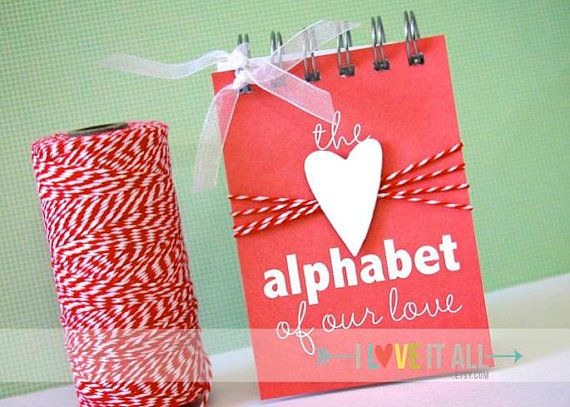Alphabet of Our Love . Wedding Engagement Marriage par ILoveItAll