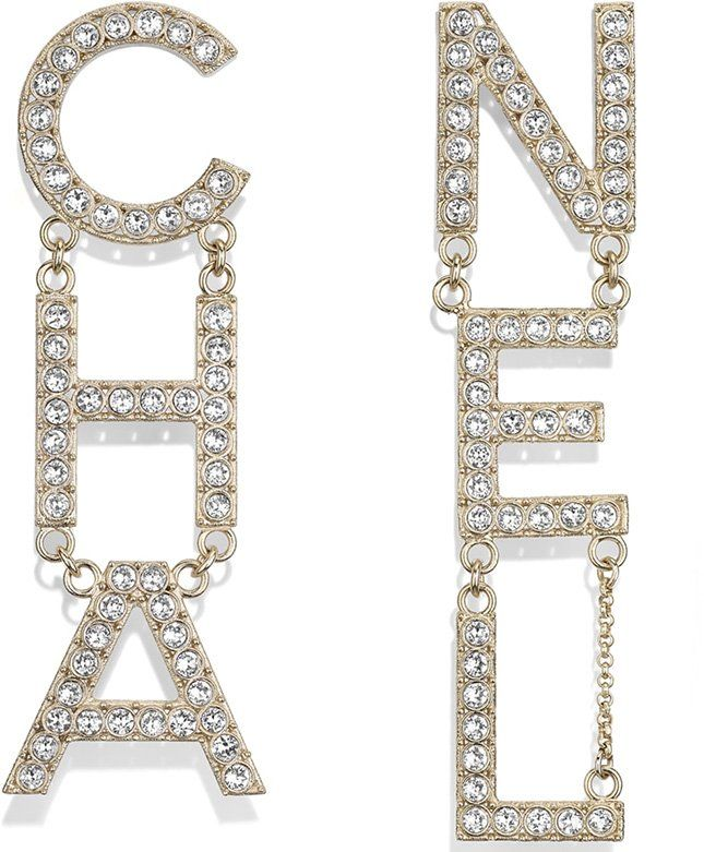 Chanel Spring Summer 2019 Earring Collection Act 2 Bragmybag Chanel Earrings Letter Earrings Earrings Collection