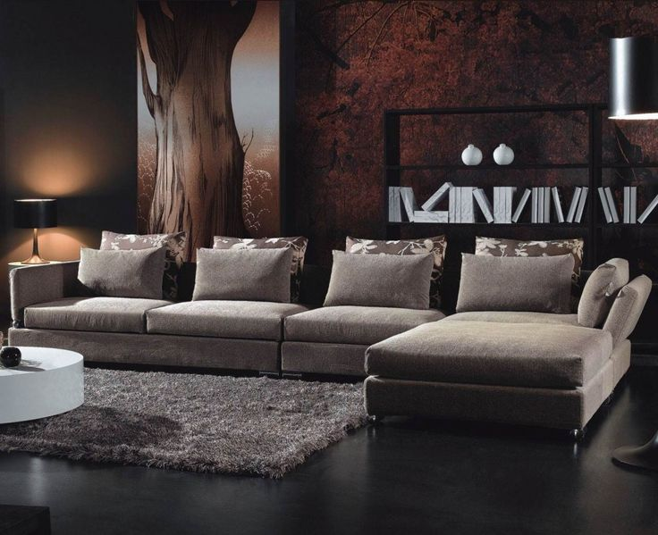 Download Modern Natural Color Living Room L Shape Sectional Sofa With Bolsters White Drum Coffee Table Artistic Walpaper Black Tulip Table Lamp Epoxy Flooring Oversized Tulip Floor Lamp Design HD Wallpapers