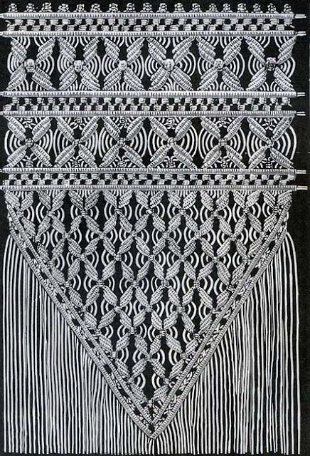 Macrame.  I wonder if my mother still remembers how to make this stuff!
