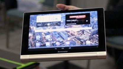 Hands on Yoga Tablet 10 HD+: Lenovos neues 1.080p-Tablet mit 18 Stunden Akkulaufzeit - Golem.de