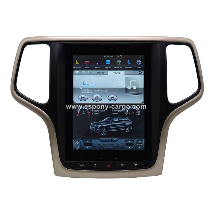 10.4'' Tesla Style Vertical HD Screen Android 6.0 Car GPS Intelligent Navigation For JEEP GRAND CHEROKEE 2016 2017