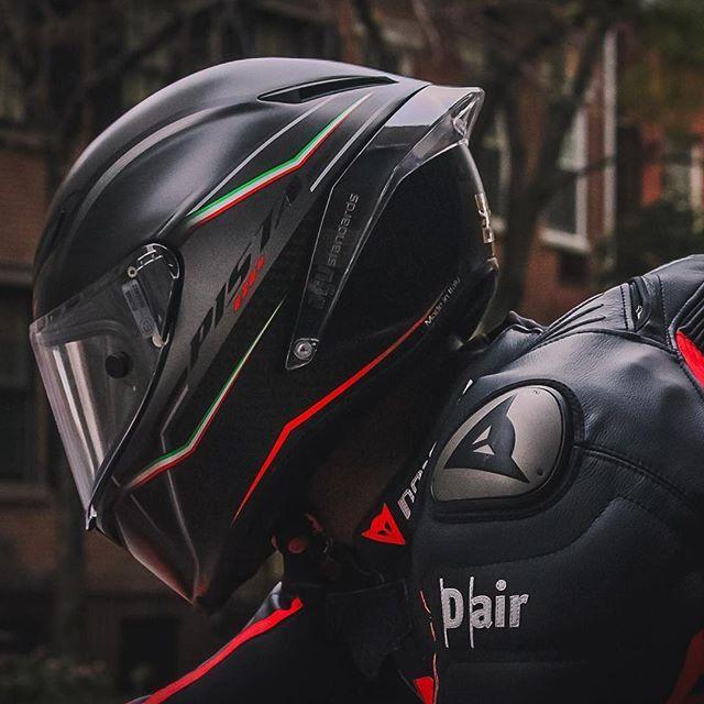 AGV Pista GP ft. Dainese D-Air  Helmet: @agvhelmets  Gear: @daineseofficial  Photo: @tj_kurek  Rider: @mayas_pops  #agvrider #dainesecrew #ducatistagram