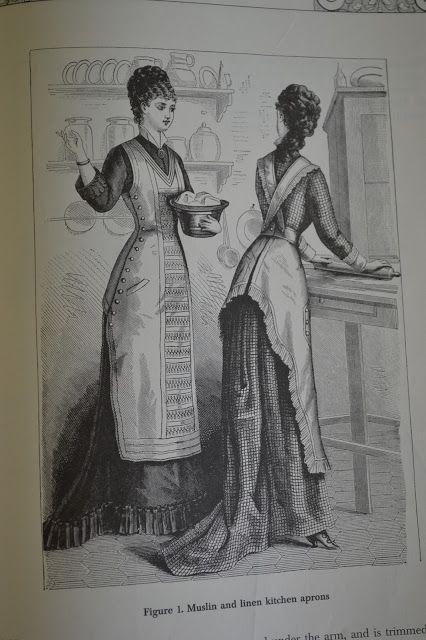 Victorian apron pattern