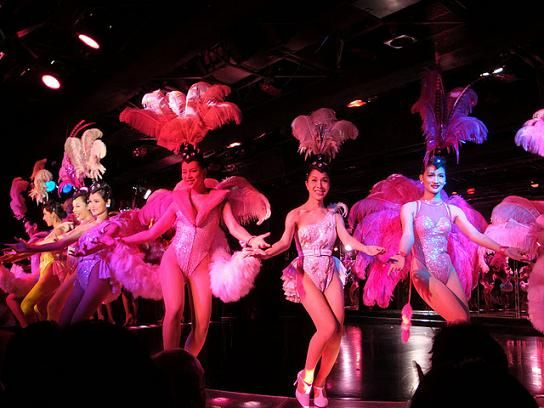 Show Dancers at the Calypso Cabaret Show in Bangkok, Thailand