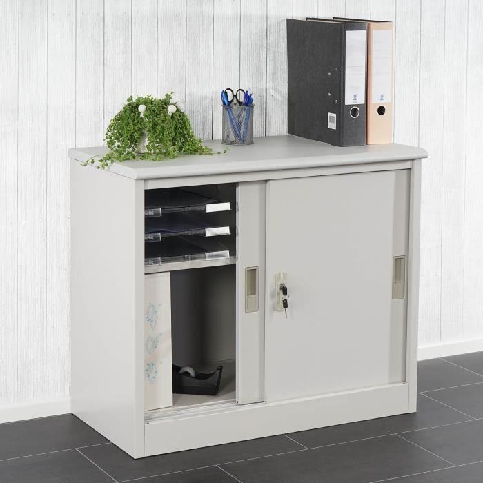 Meuble De Rangement Bureau Armoire Bureau Rangement Classeur Coulissant Achat Vente Armoire Locker Storage Storage Ikea