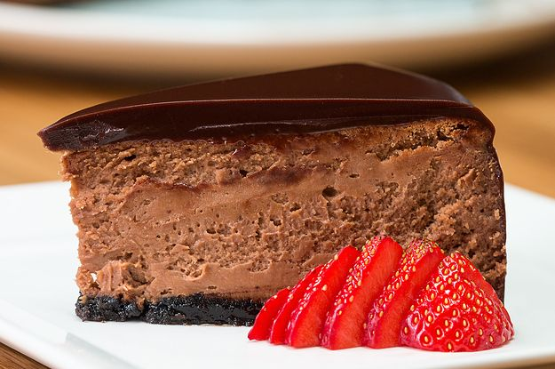 Chocolate Mousse Cheesecake - Use GF cookies for crust