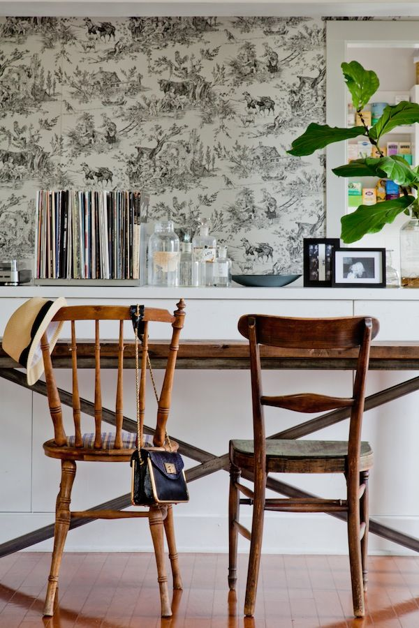 Emily Henderson — Stylist - BLOG - FDR Chic - a dude's mix of antique, mid-century and bohemian style.